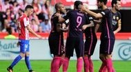 Highlight: Sporting Gijon 0-5 Barcelona (Vòng 6 La Liga)